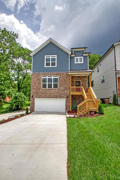 Davidson County Single Family Home For Sale: 1112 A Campbell Street