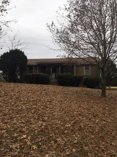 Robertson County Single Family Home For Sale: 3031 Burgess Gower Rd