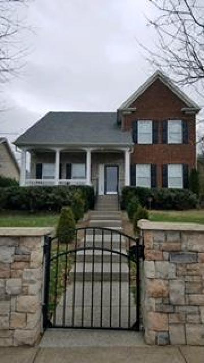 Franklin  Single Family Home Under Contract - Not Showing: 3044 Oxford Glen Dr