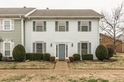Nashville Condo/Townhouse For Sale: 701 General George Patton Rd
