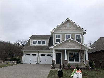 Gallatin Single Family Home For Sale: 162 Monarchos Drive - Lot 251