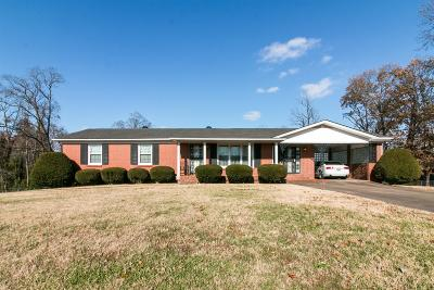 Christian County, Ky, Todd County, Ky, Montgomery County Single Family Home For Sale: 564 Morrison Dr