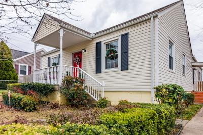 Nashville Single Family Home For Sale: 6327 Columbia Ave