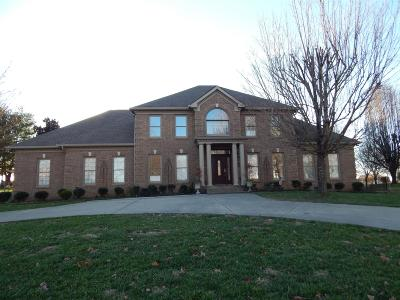 Christian County, Ky, Todd County, Ky, Montgomery County Single Family Home For Sale: 530 Pond Apple Rd
