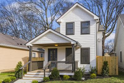 Nashville Single Family Home For Sale: 920 Morrison St