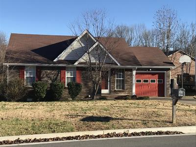 Clarksville Single Family Home For Sale: 103 Shady Maple Dr