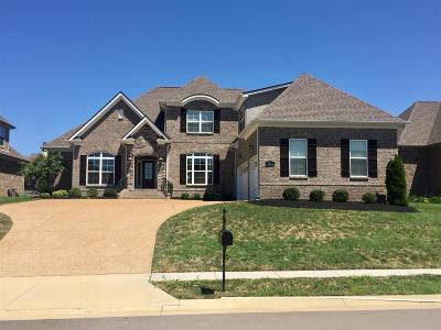 Nolensville Single Family Home For Sale: 2124 Sugar Mill Drive