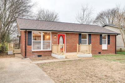 Nashville Single Family Home For Sale: 2133 W Richmond Hill Dr