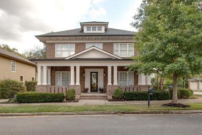 Franklin Single Family Home Under Contract - Showing: 456 Pearre Springs Way