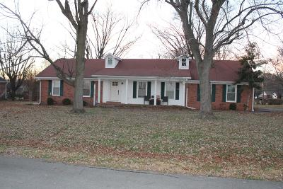 Christian County Single Family Home For Sale: 929 Owen Drive