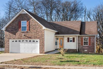 Clarksville TN Single Family Home For Sale: $186,900