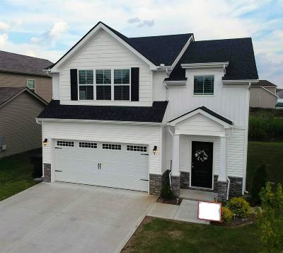 Murfreesboro Single Family Home For Sale: 1627 Sunray Dr - Lot 119