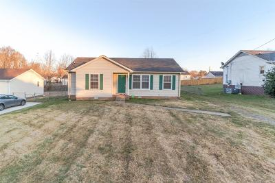Clarksville Single Family Home Under Contract - Not Showing: 577 Kathryn Ct