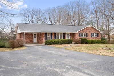 Clarksville Single Family Home For Sale: 3121 E Old Ashland City Rd