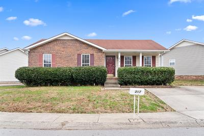 Clarksville Single Family Home For Sale: 217 Grassmire Dr