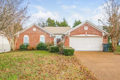 Davidson County Single Family Home For Sale: 409 Ashby Pl