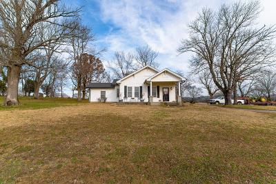 Lebanon Single Family Home Under Contract - Showing: 1817 Sparta Pike