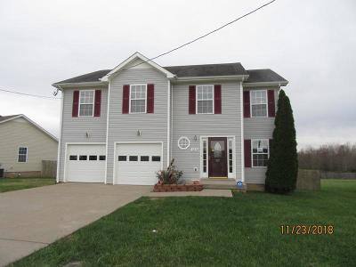Clarksville TN Single Family Home For Sale: $162,500