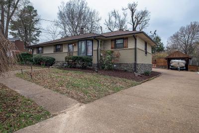 Nashville Single Family Home For Sale: 508 Wanda Dr
