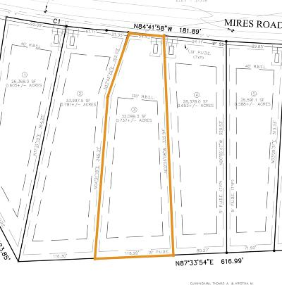 Mount Juliet Residential Lots & Land For Sale: Mires Rd - Lot 3