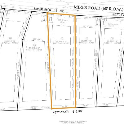 Mount Juliet Residential Lots & Land For Sale: Mires Rd - Lot 4