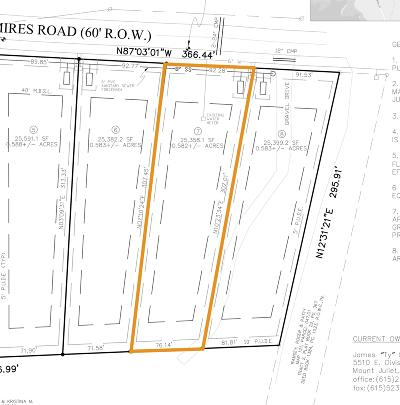 Mount Juliet Residential Lots & Land For Sale: Mires Rd - Lot 7