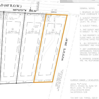 Mount Juliet Residential Lots & Land For Sale: Mires Rd - Lot 8
