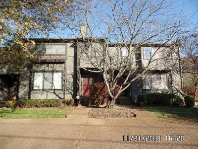 Old Hickory Condo/Townhouse For Sale: 4418 S Trace Blvd