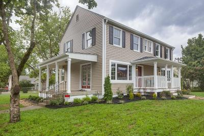 Old Hickory Single Family Home For Sale: 1206 Elliston St