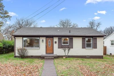 Nashville Single Family Home For Sale: 703 Lischey Ave