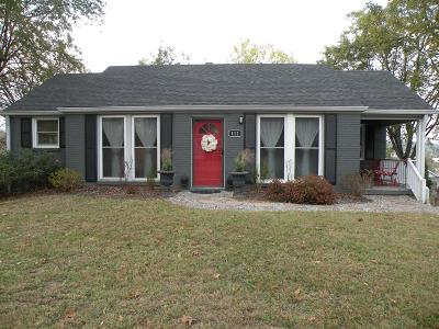 Goodlettsville Single Family Home Under Contract - Showing: 112 Myers Ave