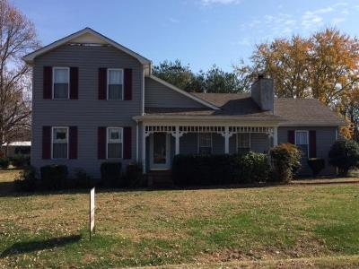 Lavergne Single Family Home Under Contract - Not Showing: 821 Walnut Ridge Dr