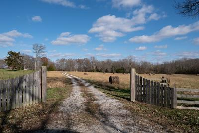 Culleoka Single Family Home Under Contract - Not Showing: 1769 Buck Daniels Rd