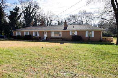 Gallatin Single Family Home For Sale: 853 Rogers Rd