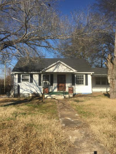 Nashville Single Family Home For Sale: 2105 Courtney Ave
