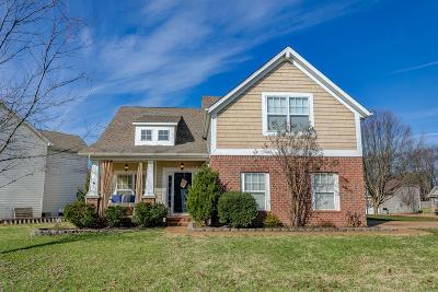 Brentwood, Fairview, Franklin, Spring Hill, Thompson's Station, Thompsons Station Single Family Home Under Contract - Showing: 1630 Zurich Dr