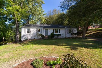 Davidson County Single Family Home Under Contract - Not Showing: 632 Watsonwood Dr