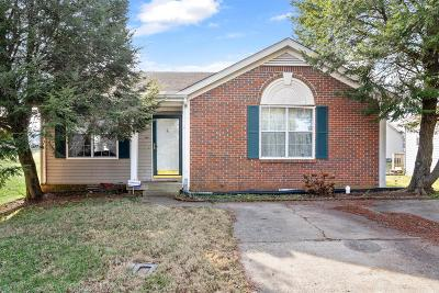 Clarksville Single Family Home Under Contract - Showing: 84 Grassmire Dr