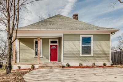 Nashville Single Family Home For Sale: 1508 Meridian St