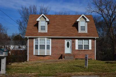 Clarksville Single Family Home Under Contract - Showing: 207 Mark Spitz Dr
