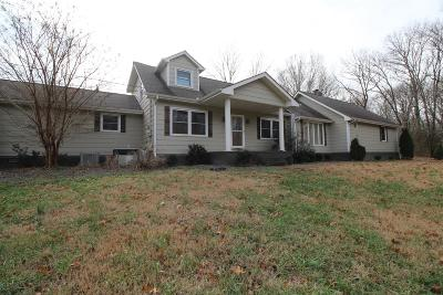 Murfreesboro Single Family Home For Sale: 6529 Burnt Knob Rd