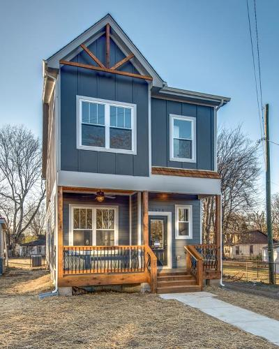 Nashville Single Family Home For Sale: 1736 16th Ave North