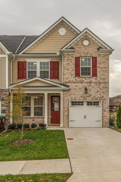 Mount Juliet Condo/Townhouse For Sale: 827 Kennear Ln