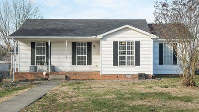 Lebanon Single Family Home Under Contract - Not Showing: 1320 Raden Dr