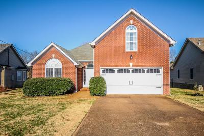 Mount Juliet Single Family Home For Sale: 1022 Saddle Wood Dr