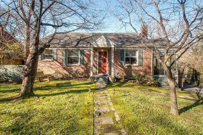 Nashville Single Family Home For Sale: 709 Powers Ave