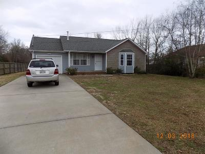 Clarksville Rental For Rent: 405 Woodale Drive