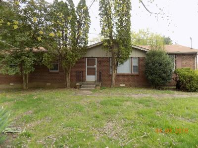 Clarksville Rental For Rent: 579 Waldorf Drive