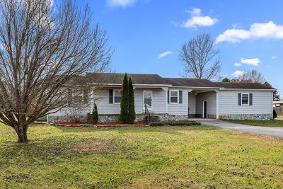 Shelbyville Single Family Home Under Contract - Showing: 419 Frank Martin Rd.