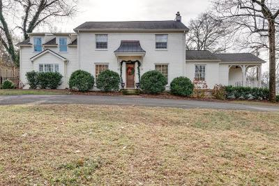 Nashville Single Family Home Under Contract - Not Showing: 2414 Sterling Rd